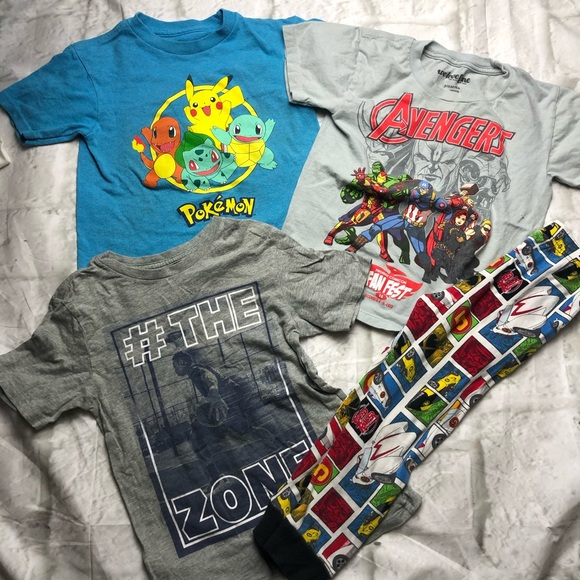 The Children's Place Other - 🌟3/$10 Boys bundle size 4-5-6 lot of 4 pieces